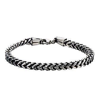 Stainless steel bracelet for men from Franco chain