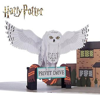 Cardology Harry Potter Hedwig Handmade Pop Up Card