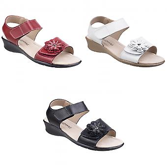 Fleet & Foster Womens/Ladies Sapphire Touch Fastening Sandals