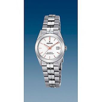 Festina - Wristwatch - Ladies - F20438/A - Steel Strap Classic