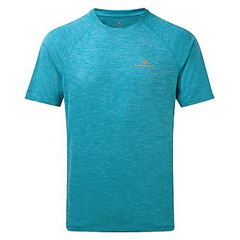 Ron Hill Hombres Momentum Wicking camiseta corta con running