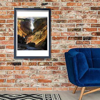 Thomas Moran - Yellowstone Canyon Poster Print Giclee