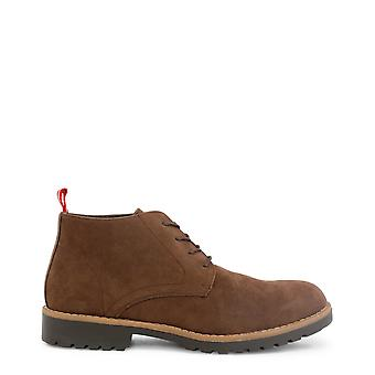 Duca di Morrone Original Men Fall/Winter Lace Up - Brown Color 30413