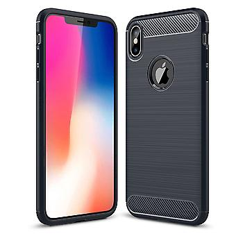 Brushed back carbon case for apple iphone 6