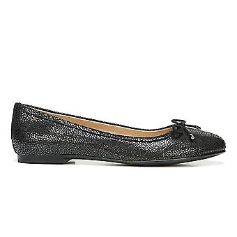 Naturalizer Womens Grace Leather Round Toe Ballet Flats