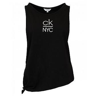 Calvin Klein Swimwear Side Knotted Tank Top