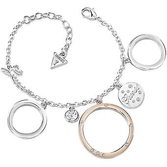Guess vrouw roestvrijstaal Circonite armband UBB84106-S