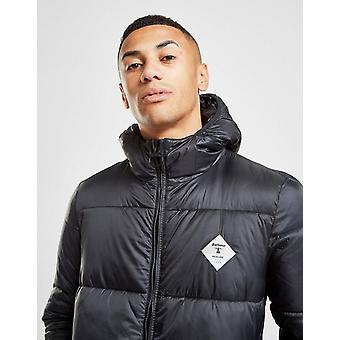 New Barbour Men's Beacon Ross Baffle Quilted Padded Jacket Black