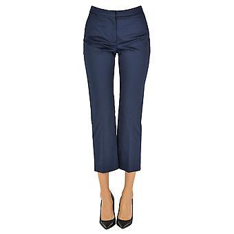 Mulberry Ezgl115018 Women's Blue Cotton Pants