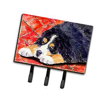 Carolines Aarteita SS8842TH68 Bernin Mountain Dog Talutushihna haltija tai avain koukku