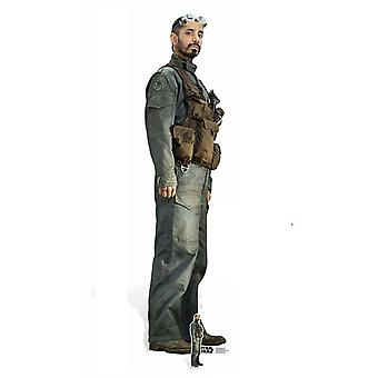 Bodhi Rook Rogue One: A Star Wars Story Lifesize Cardboard Cutout / Standee