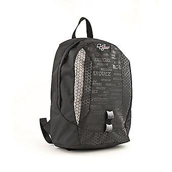 MotoGP Schulrucksack/Backpack Grey/Black 25l 2 Rei_verschlussf?chern Casual Backpack - 44 cm - 25 liters - Multicolor (Grey/Black)
