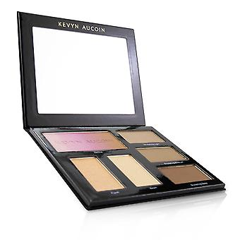 The contour book volume iii the art of sculpting & defining (2x highlighting powder, 3x sculpting powder, 1x bronzer) 23.7g/0.7oz