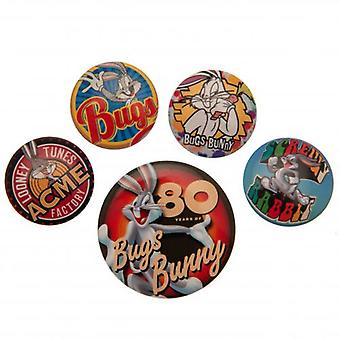 Looney Tunes Button Abzeichen Set