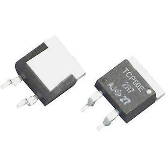 TRU COMPONENTS TCP50E-AR100FTB Hochleistungswiderstand 0,1 x SMD TO-263/D2PAK 50 W 1 % 1 Stück(s)