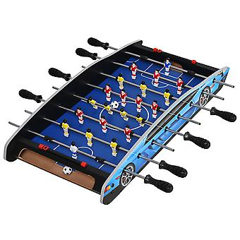 HOMCOM 2ft Foosball Table Football Game Table Arcades Competition Sized for Indoor, Game Room, Bars