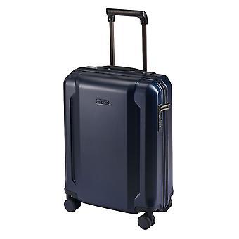 d&n Línea de viaje 8100 Equipaje de mano Carro S, 4 ruedas, 54 cm, 39 L, azul