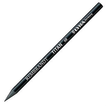 LYRA Woodless Titan Pencil, 307 6B, Black, 1 Pencil (2039106)