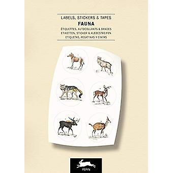 Fauna - Label & Sticker Book by Pepin Van Roojen - 9789460094279 B