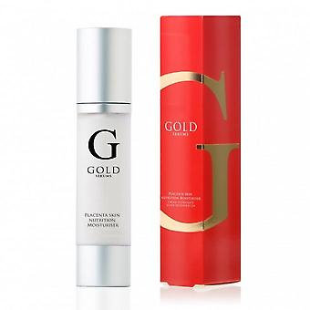 Gold serums placenta moisturiser