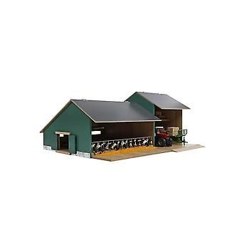 KidsGlobe  (Kids Globe) Kids Globe Stable With Farm Shed - Cows Or Horses  1:32  0200