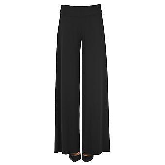 Norma Kamali Ezgl408011 Women's Black Polyester Pants