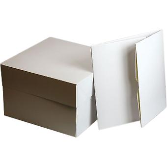 Culpitt Square White Cake Box