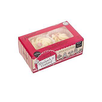 Konditori de Bain Bath Tartlettes Lös upp och koppla av 2 x 45g rabard och vaniljsås
