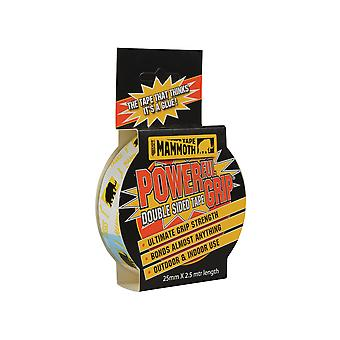 Everbuild Powerful Grip Double Sided Tape 25mm x 2.5m EVB2PG25