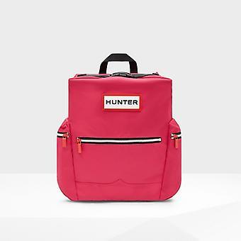 Hunter Originele Unisex Top Clip Rugzak Bright Pink