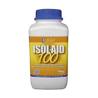 Isol-Aid 100 Strawberry Isolate Protein 900 g of powder (Strawberry)