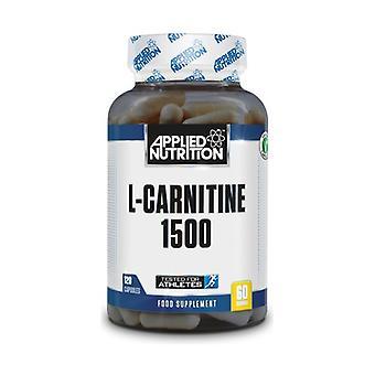 L-Carnitine, 1500mg 120 capsules
