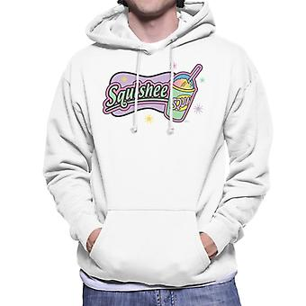 The Simpsons Retro Squishee Logo Men's Hooded Sweatshirt