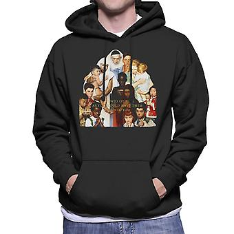The Saturday Evening Post Norman Rockwell Do Unto Others Men's Hooded Sweatshirt
