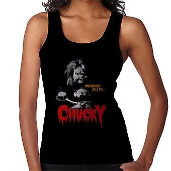 Chucky mina vänner kallar mig Chucky kvinnor ' s Vest