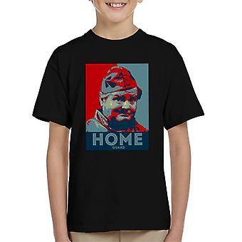 TV Times Benny Hill Home Guard Kid's T-Shirt