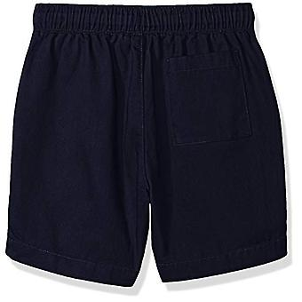 Brand- LOOK par Crewcuts Boys-apos; Pull on Chino Short, Navy, Large (10)