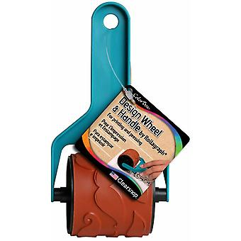 Clearsnap ColorBox Design Wheel & Handle Jumbo Mustaches