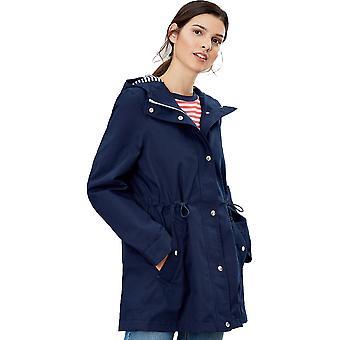 Joules Womens Shoreside A Line Hooded Waterproof Coat