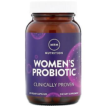 MRM, Women's Probiotic, 60 Vegan Capsules