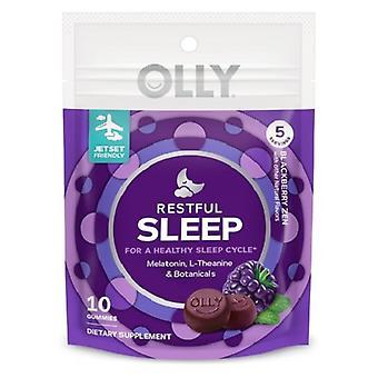 Olly Restful Uyku Gummies - Böğürtlen