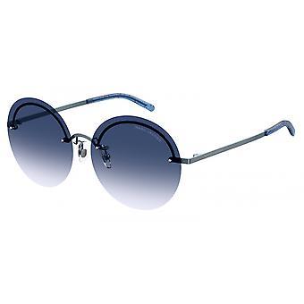 Sunglasses Women's borderless blue