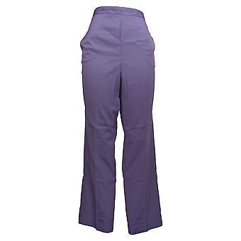 Alfred Dunner Femmes's Pantalon Confort Taille Lavande Pourpre