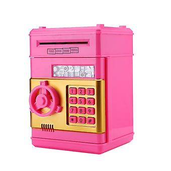 Electronic Piggy Bank - Atm Password Cash / Coins Safe Box Toy