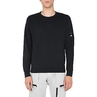C.p. Unternehmen 09cmss001a00246g999 Männer's schwarze Baumwolle Sweatshirt
