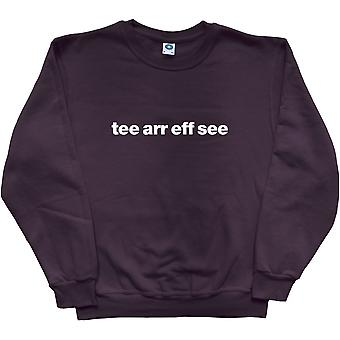 Tranmere Rovers &Tee Arr Eff See& Musta Collegepaita
