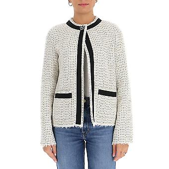 Semi-couture Y0wv11chn04 Women's White Wool Cardigan