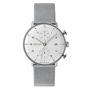 Junghans max bill Chronoscope Watch for Unisex 027/4003.48