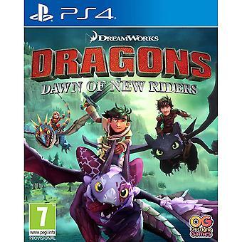 Jeu de Dragons Dawn of New Riders PS4