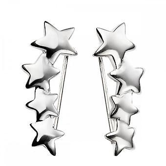 بدايات الجنيه الاسترليني الفضة E5420 تخرج نجمة الزاحف الأقراط